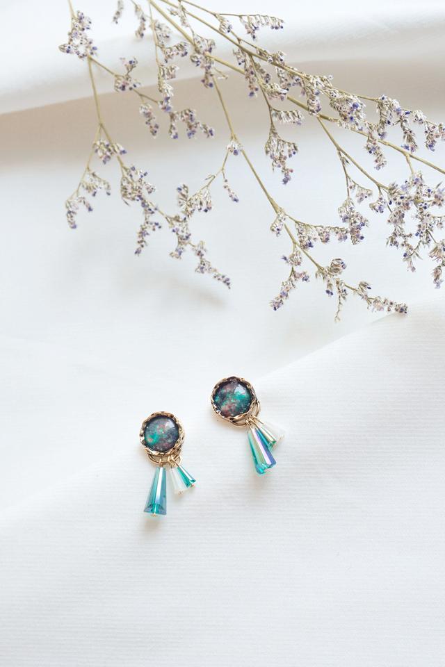 Turquoise Bead Earrings